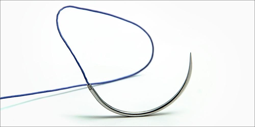 шовный хирургический материал